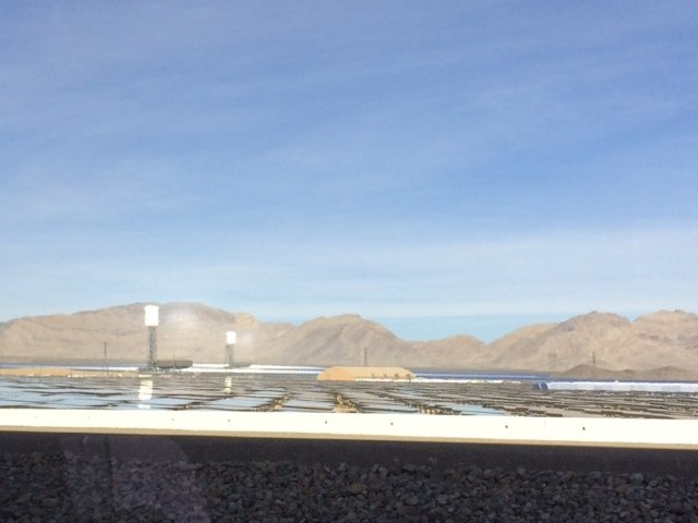 Ivanpah Solar Thermal Project Both