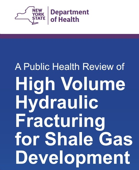 Details of New York State Study Demonstrate Why Fracking's Too Risky to Be Allowed