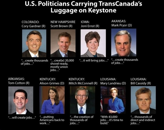 U.S. Politicians Left Holding TransCanada's Bag on Keystone