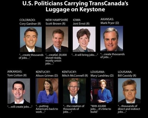 U.S. Politicians Left Holding TransCanada's Bag on Keystone