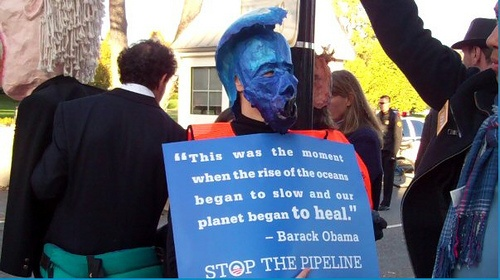 Video, Photos: 12,000+ People Surround White House Demanding a Stop to Dirty Tar Sands Pipeline