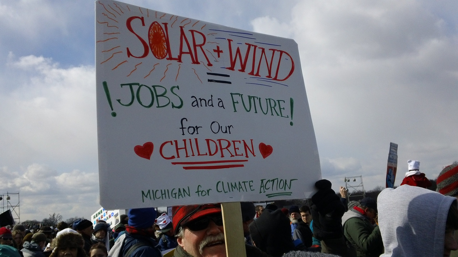Photos from Today's Pro-Clean Energy, Anti-Keystone Tar Sands Pipeline Rally in Washington, DC