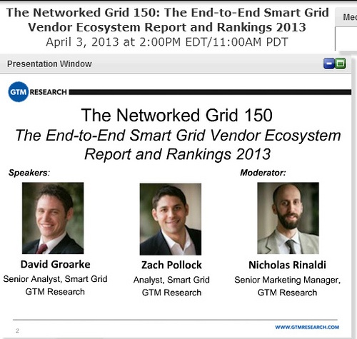 Greentech Media Webinar Highlights