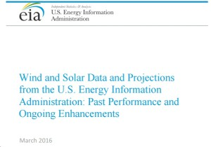 EIA's Response to Criticisms of Its Clean Energy Forecasts Fails to Address Core Concerns