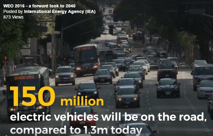IEA's World Energy Outlook 2016 Released, Main Scenario Sees Renewables Making Up 60% of New Power Gen Through 2040