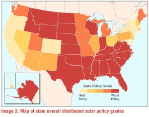 New Report: 10 States Making Things Particularly Difficult for Distributed Solar Power