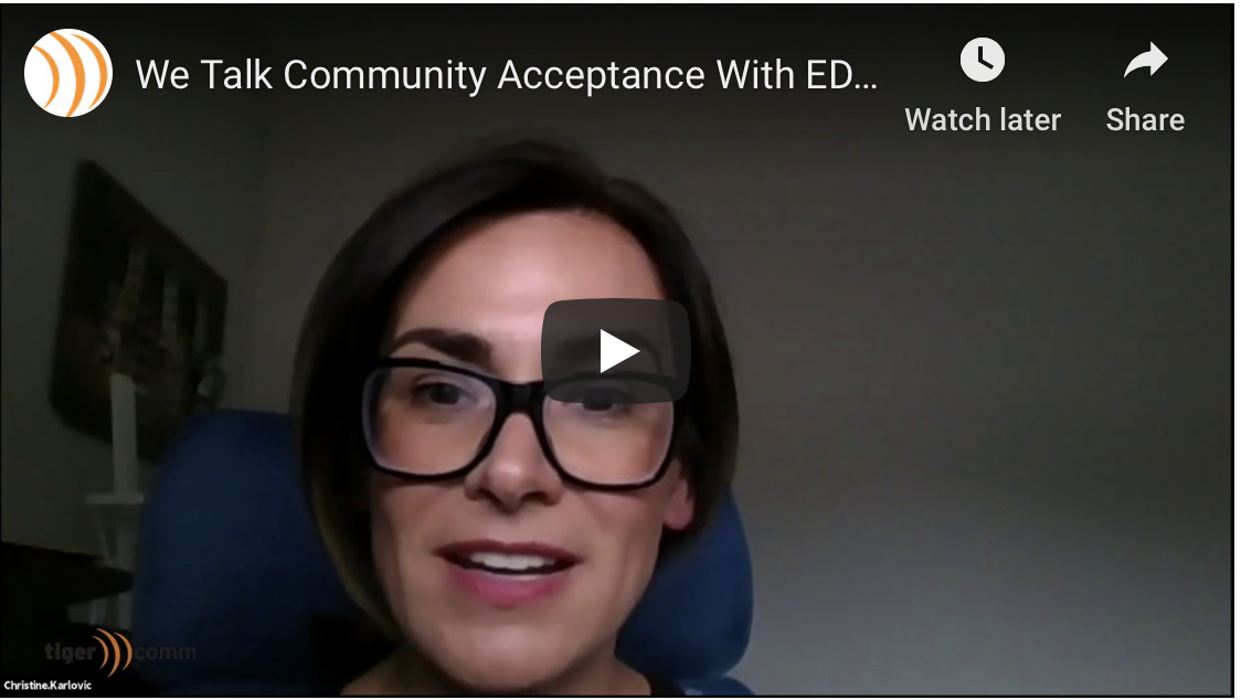 We Talk Community Acceptance With EDF's Christine Karlovic