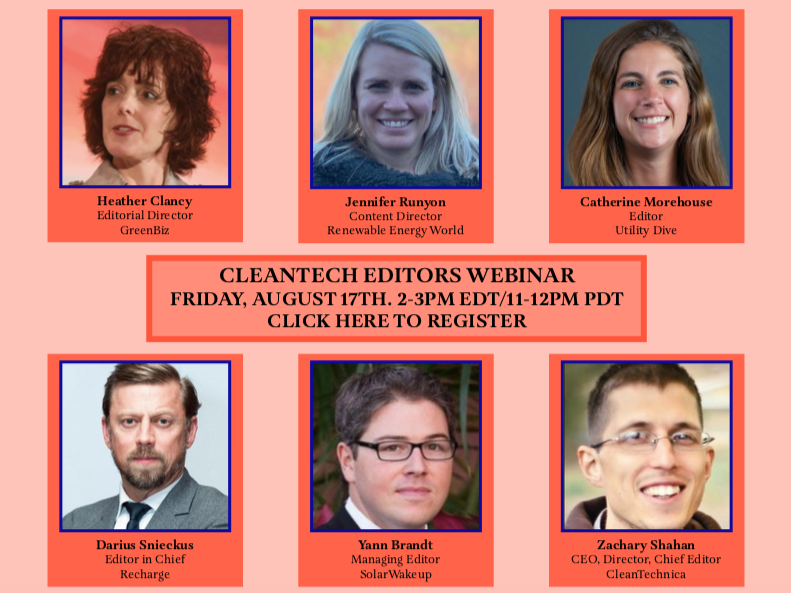 Tigercomm to Convene First-ever Cleantech Editors Webinar