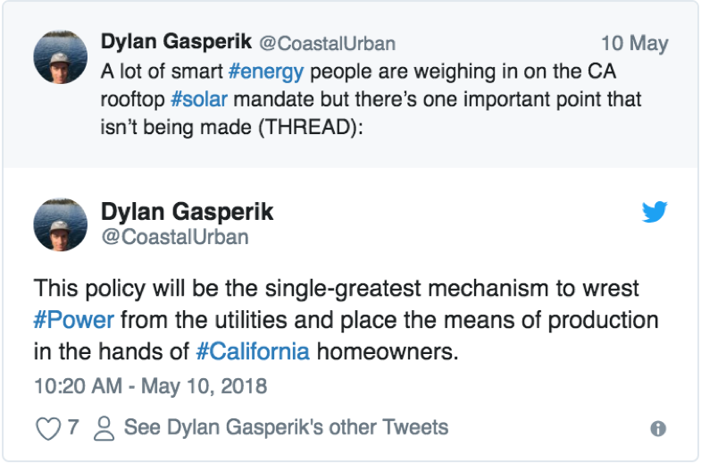 Media Roundup: California Sets New Standard for Residential Rooftop Solar